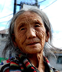 Tribute to life (~FreeBirD~) Tags: life people woman india face lines lady grey march interesting eyes asia asians candid indian culture streetphotography mani lips age elder uttaranchal aged tradition emotions changes oldage challenge mussorie babbar nikonstunninggallery mywinner