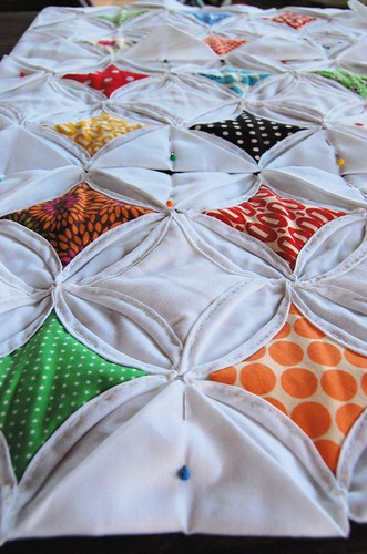 Make A Cathedral Window Quilt With These Easy To Follow Instructions.