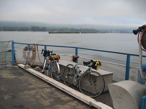 Bicycles on the ferry