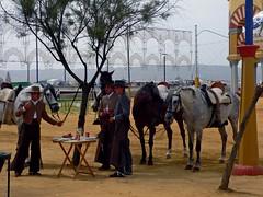 Jinetes (sula113) Tags: horses people de feria cordoba noria sula gitana trajes upcoming:event=268074