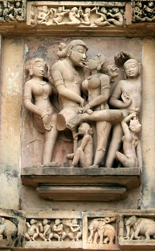 Khajuraho - French kiss
