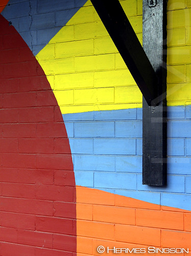 Colorful Wall by Hermes Singson