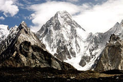 Gashebrum iv--7925m Baltorotrek. (ghazighulamraza) Tags: blue pakistan landscape photography this photo saw photographer you class diamond ribbon another hunza deserve northernpakistan gilgit snowpeaks landscapephotography northofpakistan a northpakistan historyofpakistan mountainsofpakistan hrefhttpwwwflickrcomgroupsblueribbonimg srchttpfarm1staticflickrcom192505040398842abfd9c2ojpgai ribbonba hrefhttpwwwflickrcomgroupsblueribbon altblueribbonphotographya northerareasofpakistan pakistanilandscapephotographer ghazighulamraza pakistanilandscapre