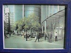 Artist's impression of Willis Building concourse