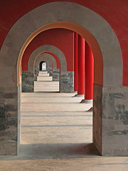 Arches, The Forbidden City (shutterBRI) Tags: theforbiddencity forbiddencity china chinese emperor beijing capital old vanishingpoint perspective red arch arches travel canon powershot a630 shutterbri brianutesch 2007 palace light shadow architecture stone dynasty mingdynasty qingdynasty wowiekazowie superbmasterpiece flickrchallengegroup flickrchallengewinner brianuteschphotography photography photo photofaceoffwinner photofaceoffplatinum pfogold architectural unesco worldheritagesite palacial