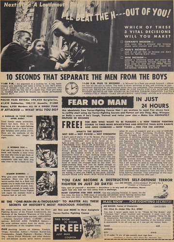 Vintage Ad #690: 10 Seconds that Separate the Men from the Boys