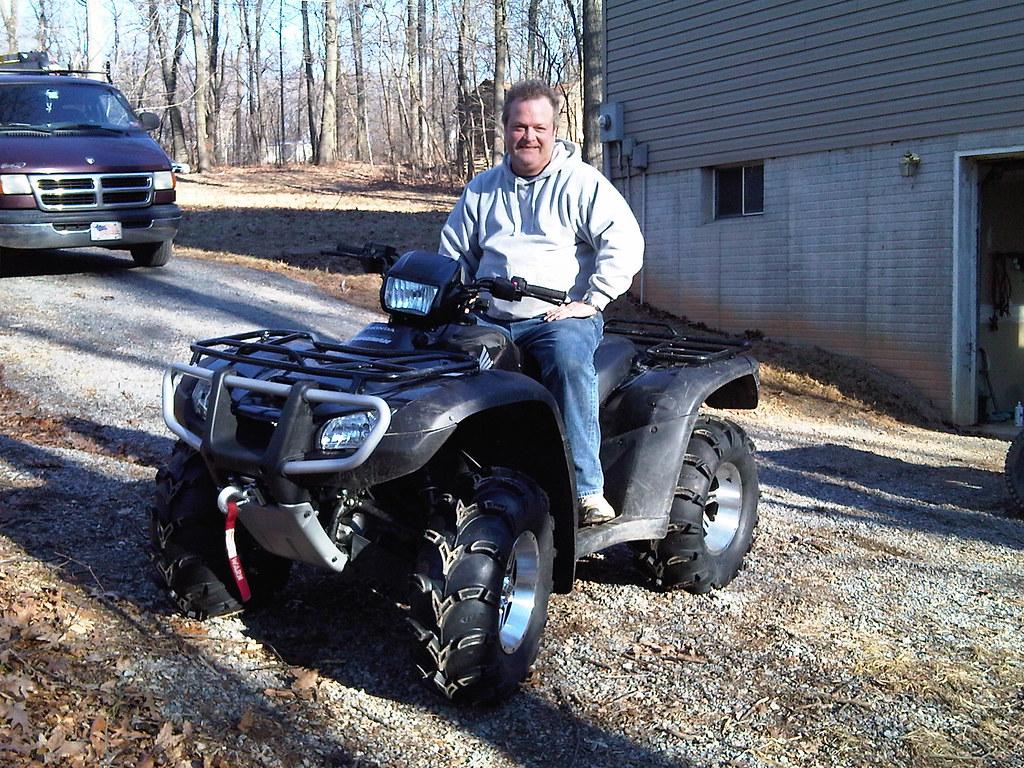Doug's new ATV - 09 Honda Foreman 500
