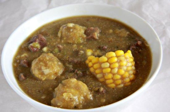 Sopa de Platano (Plantain Soup) - The Noshery