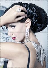 Inspired with .... (Najwa Marafie - Free Photographer) Tags: by diamonds hair photography model nikon artist sofia christina moda makeup company dresses villa kuwait bibi nada fawaz stylist asad najwa villamoda artiest d3x nstudio marafie 96566383666 wwwnstudiocomkw