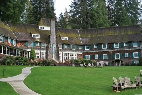 Quinault Lodge, Olympic National Forest, WA