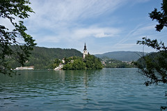 Island on Lake Bled (Shelley & Dave) Tags: lake church island slovenia bled glaciallake pilgrimagechurchoftheassumptionofmary