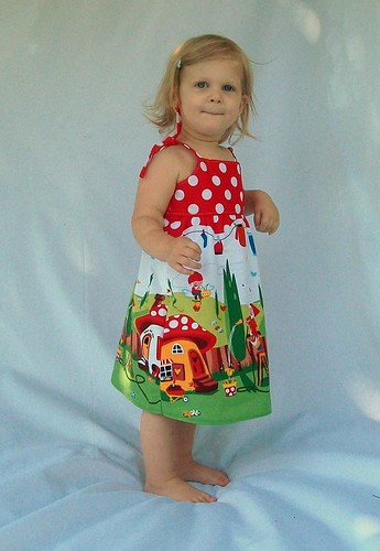 Handmade Boutique Girls Dress