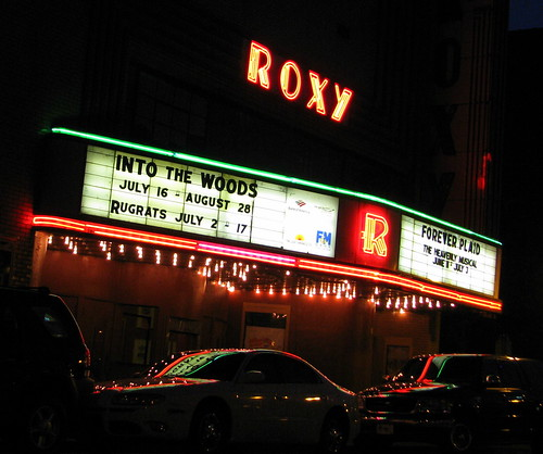 Roxy Theater at Night - Clarksville, TN
