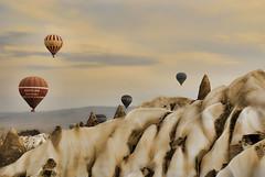[フリー画像] 自然・風景, 岩山, カッパドキア, 世界遺産, トルコ, 201006290700