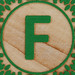 Block Letter F