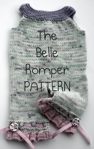 The Belle Romper PATTERN