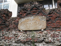 30. Old plaque on London wall