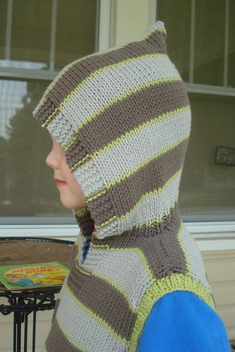 Wonderful Wallaby Vest - hood