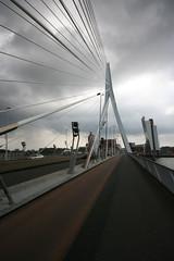 Erasmusbridge (JPKoudstaal) Tags: rotterdam erasmusbrug erasmusbridge