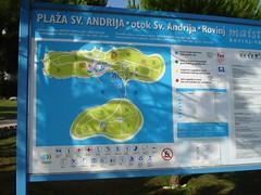 Resort map (Drift Words) Tags: holiday map croatia naturist rovinj fkk istra crveniotok maskin standrea svandrea