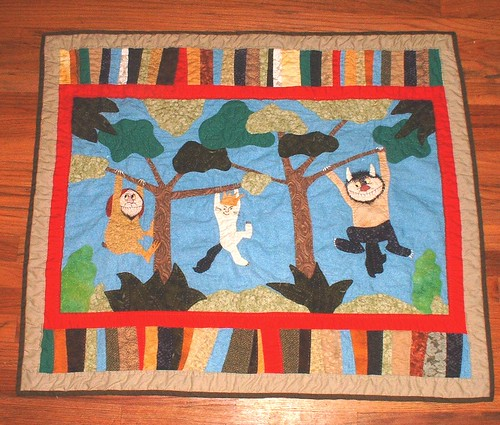 Wild Things quilt