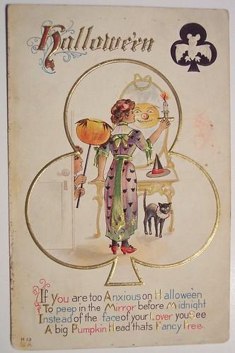 Vintage Halloween Postcard     Nash