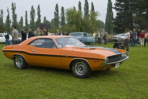 1970 Dodge Challenger Wallpaper. Orange 1970 Dodge Challenger