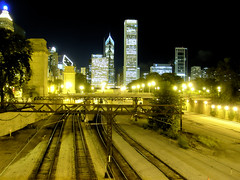Chicago (ir0cko) Tags: chicago night landscape thisistoday superaplus aplusphoto platinumheartaward