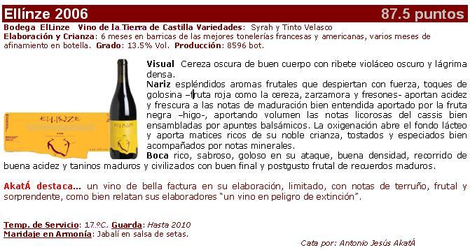 Ellinze 2006 Ficha