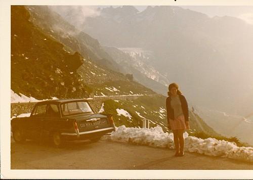 Mum Swiss Alps Aug 1972