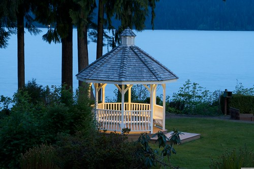 Gazebo Quinault Lodge