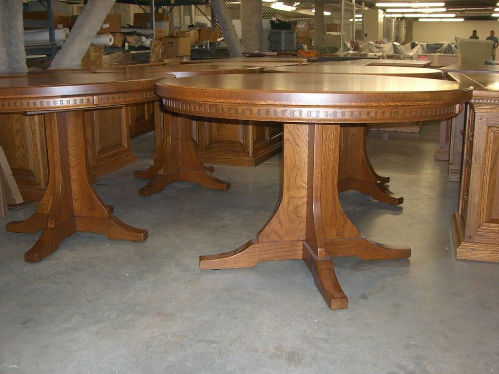 Custom Round Table - Tyson Foods