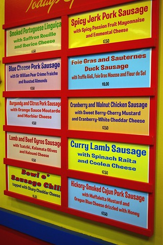 Hot Doug's - menu I