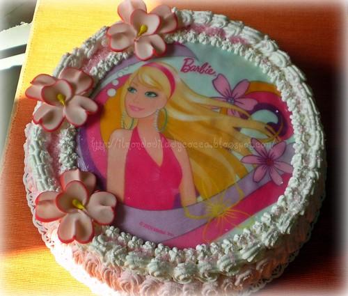 Torta Barbie