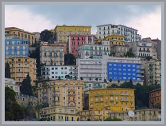 Naples    colors (Pantchoa) Tags: voyage italy tourism colors architecture canon geotagged italia couleurs faades colores vista napoli naples turismo colori italie npoles tourisme neapel  fachadas visitar  immeubles frontages visiter  npols  facciate      amiamoci canonpowershotsx200is powershotsx200is