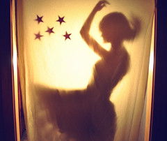 135/365 Magic (just_makayla) Tags: light motion girl silhouette hair stars nikon hand dress magic profile crop sheet 365 day135 project365 ilovethisd nikond5000 lissyelle lissyl basementcreepy hairrrrrrdidialreadysaythat
