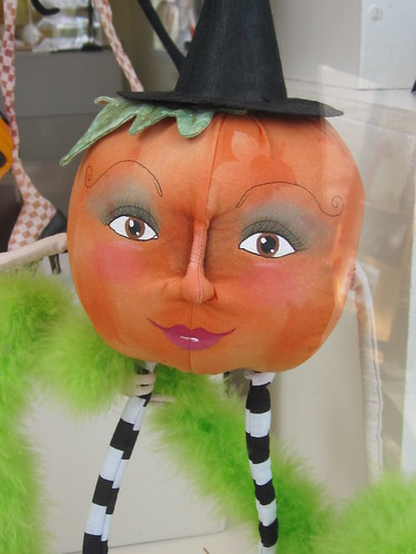 Female Pumpkin Character