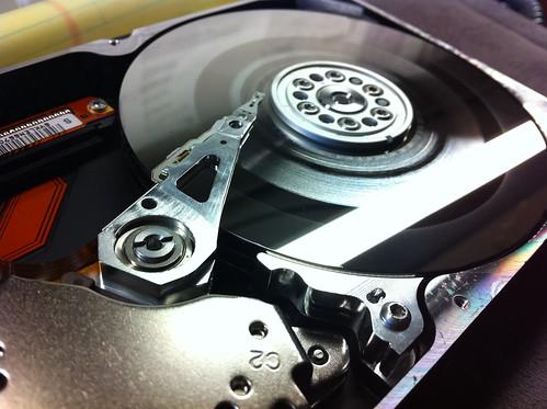 Borked hard drive