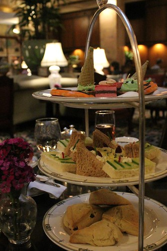 Afternoon Tea at the Brown Palace Hotel