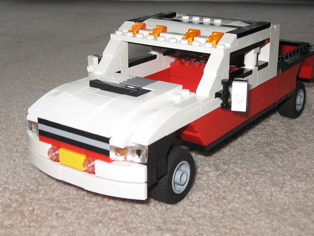 red white lego suspension dodge ram 2500 twotone sangi 304x14