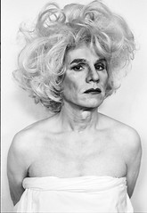 """Lady Warhol"" by Christopher Makos"