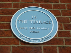 Photo of Blue plaque number 1734