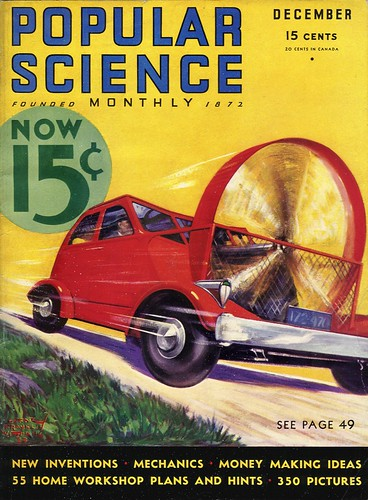 1932 - Air Driven Auto Goes Eighty Miles an Hour