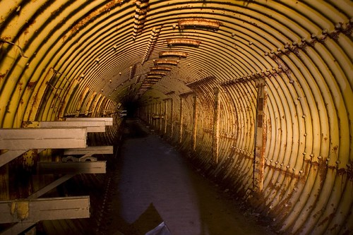 Access Tunnel at Deer Trail Titan Base