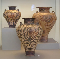 Bronze Age Greek Vases (greekgeek) Tags: art greek education greece vases ancientart greekart