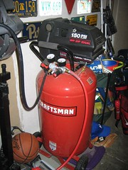 Craftsman 6 hp Vertical Portable Tank Air Compressor 33 gallon