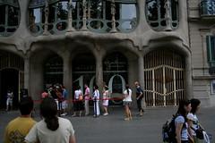 casa batll / gaud - BCN (tele_) Tags: barcelona gaud casabatll
