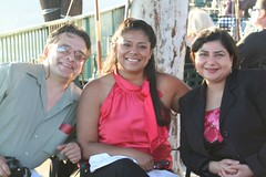 Cesar, Bettina, and Kayleene (FrogMiller) Tags: sunset orange fun drinking patio alcohol lawyers happyhour orangehill attorneys orangehillrestaurant ocbarristers