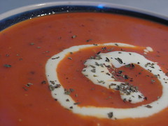 Roasted Capsicum & Tomato Soup 2