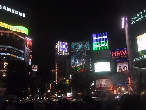 渋谷土曜日午後11時
